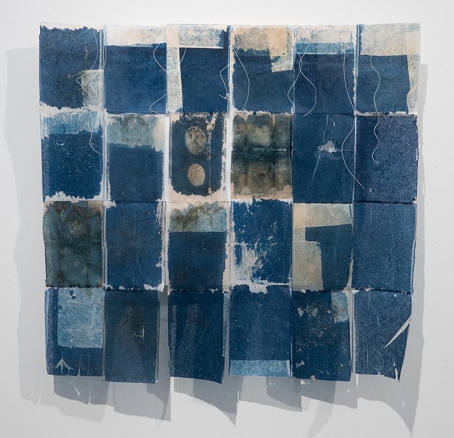 Cynthia Katz, So Blue, 2020, cyanotype